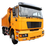 Желтый грузовик Стоковые Изображения