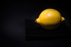 Желтый лимон Стоковые Фото