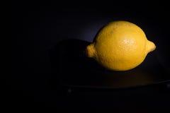 Желтый лимон Стоковое Изображение