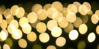 Желтый и оранжевый праздник праздничный абстрактное рождество предпосылки Стоковая Фотография RF