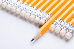 Желтый карандаш Стоковое фото RF