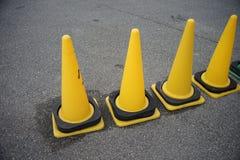 Желтый конус Стоковая Фотография RF