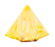 Желтый кусок ананаса Стоковое Изображение