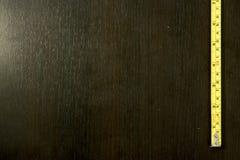 Желтый метр рулетки Стоковые Фото
