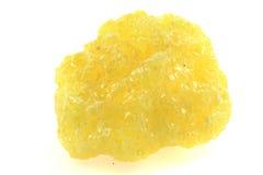 Желтый минерал серы стоковые изображения