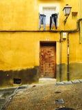 Желтый дом Стоковая Фотография RF