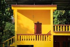 Желтый дом Стоковые Фотографии RF