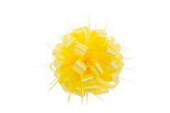 Желтый смычок Стоковое Изображение