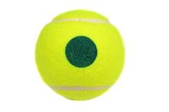 Желтый теннисный мяч Стоковая Фотография RF