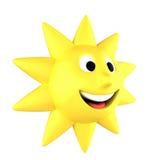Желтый усмехаться солнца бесплатная иллюстрация