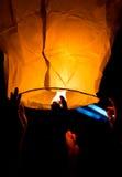 Желтый фонарик Стоковые Фото