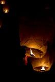 Желтый фонарик Стоковые Изображения