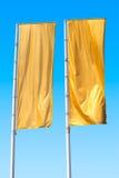 Желтый флаг 2 Стоковые Изображения