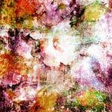 желтый цвет акварели стародедовской предпосылки темный бумажный Стоковые Изображения