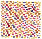 желтый цвет акварели стародедовской предпосылки темный бумажный Стоковое Фото
