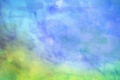 желтый цвет акварели стародедовской предпосылки темный бумажный стоковая фотография rf
