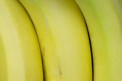 желтый цвет бананов 3 Стоковое Изображение