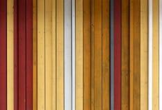 Желтый цвет, белизна и серый цвет покрасили деревянную текстуру предпосылки с ve Стоковые Фото