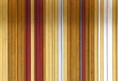 Желтый цвет, белизна и серый цвет покрасили деревянную текстуру предпосылки с ve Стоковое Изображение
