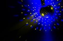 желтый цвет вектора померанцового красного цвета предмета зеленого цвета диско шарика Стоковые Фото