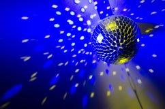 желтый цвет вектора померанцового красного цвета предмета зеленого цвета диско шарика Стоковое Фото