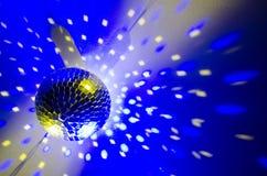 желтый цвет вектора померанцового красного цвета предмета зеленого цвета диско шарика Стоковая Фотография