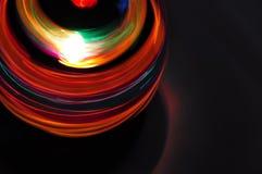 желтый цвет вектора померанцового красного цвета предмета зеленого цвета диско шарика Стоковые Фотографии RF