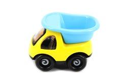 желтый цвет игрушки таксомотора автомобилей шины Стоковые Фото