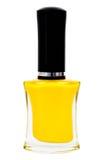 желтый цвет маникюра бутылки Стоковое Изображение RF