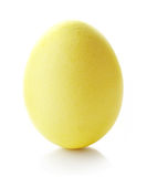 желтый цвет пасхального яйца Стоковые Фото