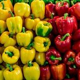 желтый цвет перцев колокола красный Стоковая Фотография RF