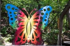 желтый цвет померанцовой картины цвета бабочки красный Стоковая Фотография RF