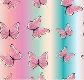 желтый цвет померанцовой картины цвета бабочки красный Стоковая Фотография