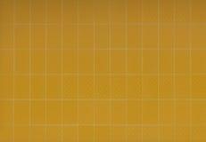 желтый цвет плитки Стоковая Фотография RF