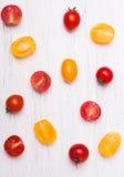 желтый цвет томатов красного цвета вишни Стоковое фото RF