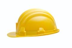 желтый цвет трудного шлема Стоковая Фотография RF