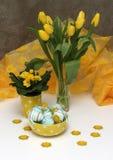 желтый цвет цветков пасхальныхя Стоковое фото RF