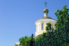 желтый цвет церков правоверный Стоковое фото RF