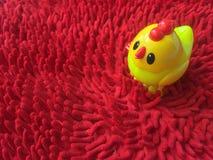 желтый цвет цыпленка Стоковые Фотографии RF