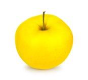 желтый цвет яблока свежий Стоковые Фото