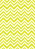 Желтый шеврон Стоковое фото RF