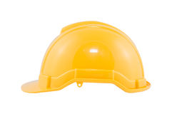 Желтый шлем безопасности Стоковое Изображение