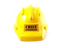 Желтый шлем Стоковые Фото