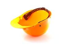 Желтый шлем Стоковое Фото