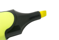 Желтый highlighter Стоковое фото RF