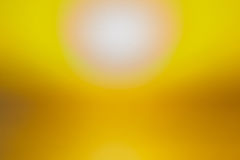 Желтым предпосылка запачканная конспектом Стоковая Фотография