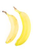 2 желтых банана Стоковое Фото