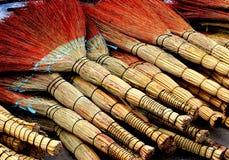 Желт-красные веники Стоковое фото RF