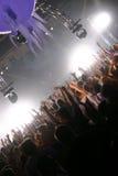 Живая музыка и люди Стоковая Фотография