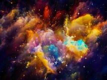 Живое межзвёздное облако Стоковое Изображение RF